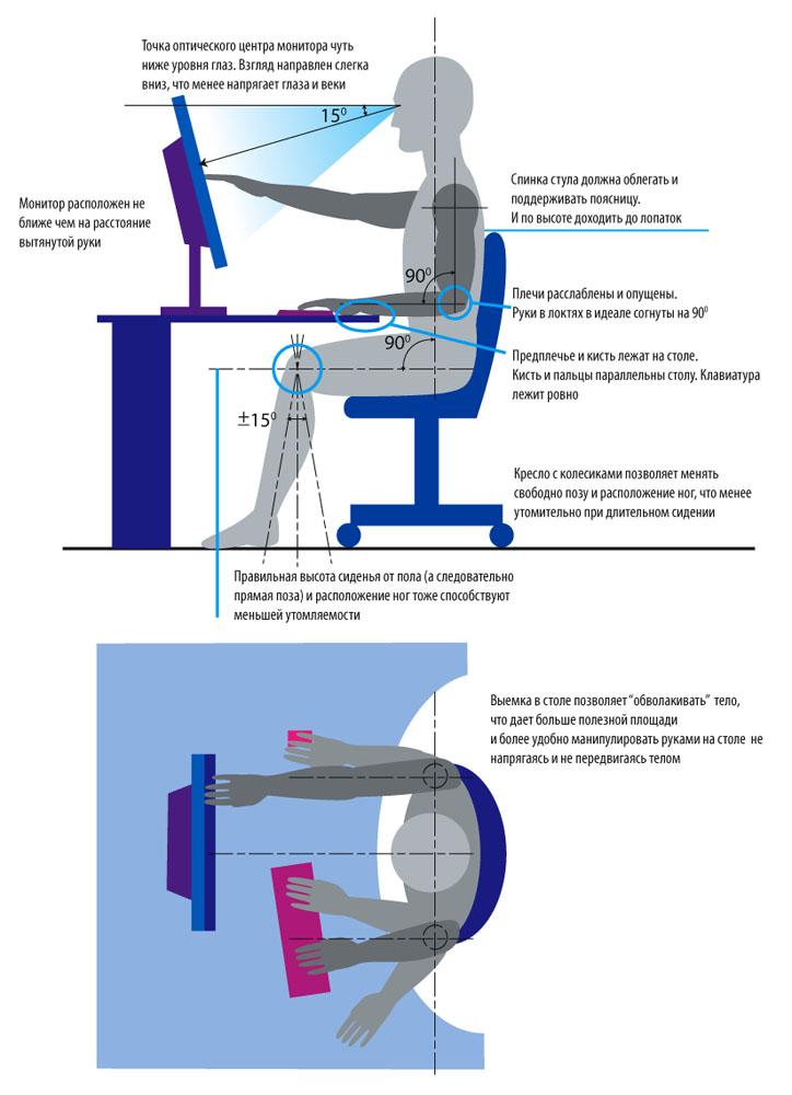 ergonomic6 Эргономика рабочего места
